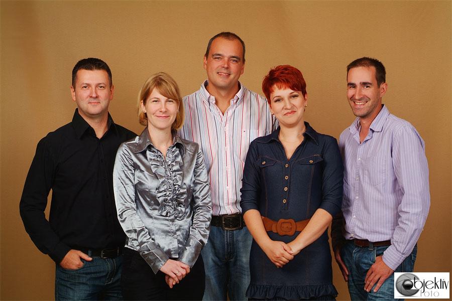 Üzleti csoportkép